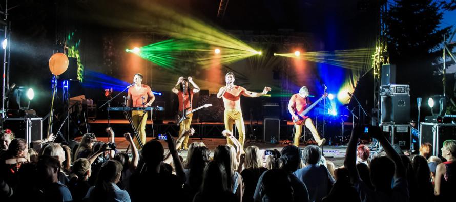 Группа «На-На» поздравила Бийск с Днем города