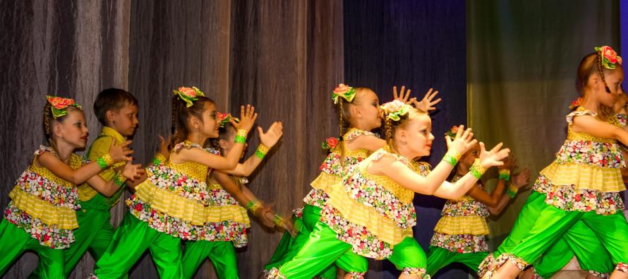 Отчетный концерт танцевальной студии «Подсолнухи»