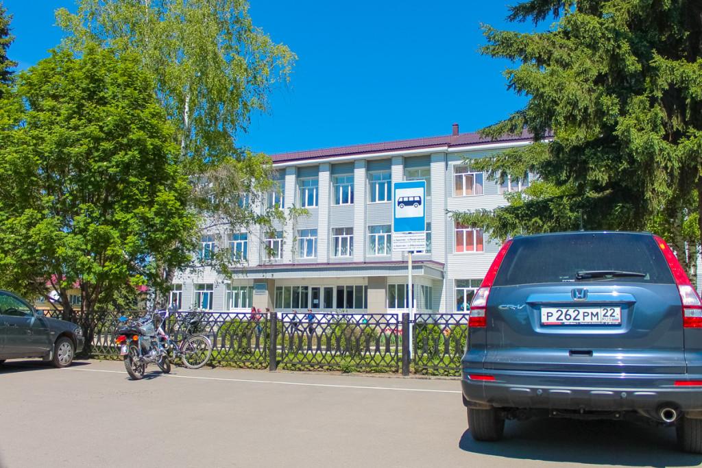 Школа в Сростках