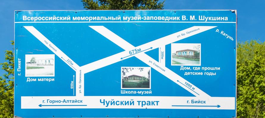 Достопримечательности и известные места села Сростки
