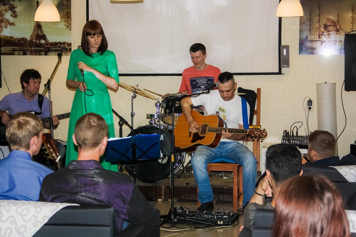 Акустический концерт группы «Трамвай». 9 июля 2015 года