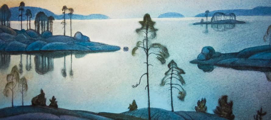 Выставка картин Бориса Смирнова-Русецкого
