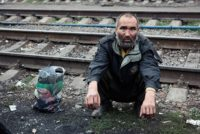 В Бийске поймали бомжа-уголовника