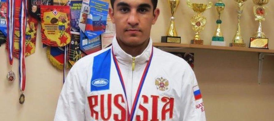 Владимир Узунян из Алтайского края выступит на юниорском первенстве мира по боксу