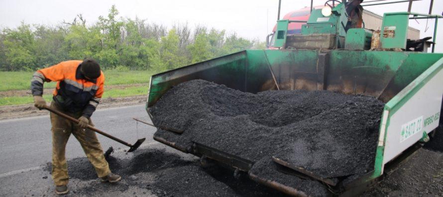 В Бийском районе Алтайского края отремонтировали участок Чуйского тракта