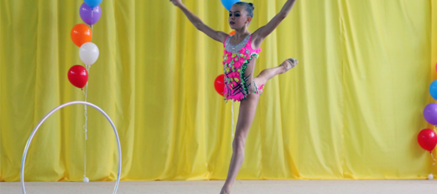 Бийчанки взяли золото и бронзу на краевом первенстве по художественной гимнастике