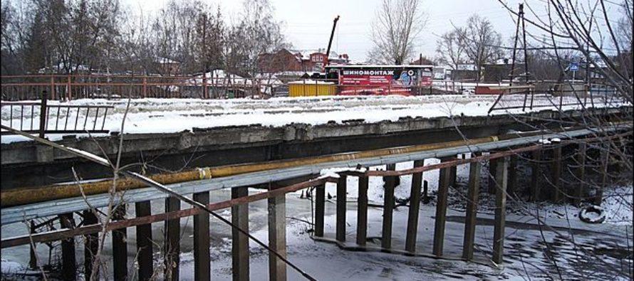 В столице Алтайского края благоустроят мост через Барнаулку