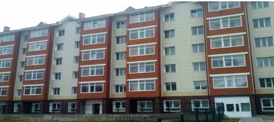 В Бийске на продажу выставлен многоэтажный жилой дом