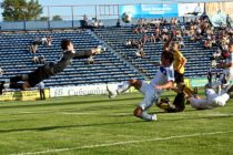 Алтайский клуб «Динамо» завершил осеннюю часть первенства России по футболу на третьем месте турнирной таблицы