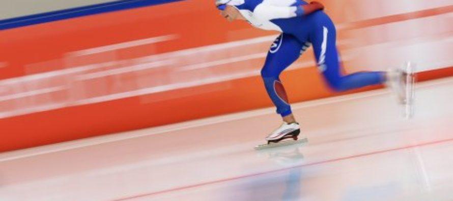 Алтайский конькобежец Виктор Муштаков одержал победу на первом этапе Кубка России