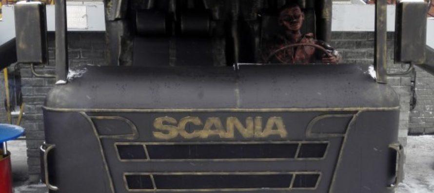 Символом барнаульских автомобилистов стал грузовик «Scania»