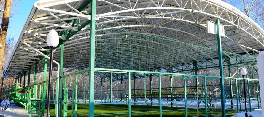 Современная мини-футбольная площадка откроется в Барнауле