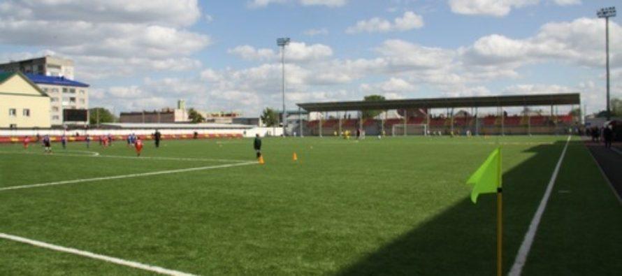 Стадион «Юбилейный» стал победителем смотра — конкурса зоны Сибири