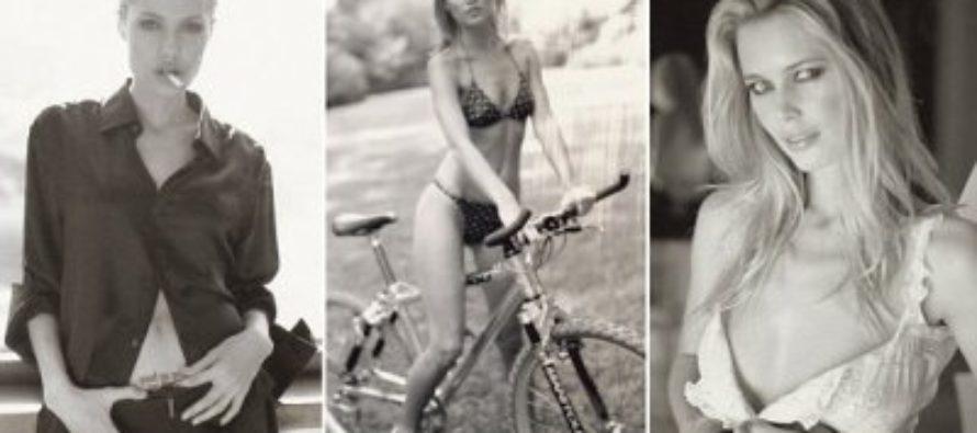 Вышла книга с «провокационными» фото Анджелины Джоли и Синди Кроуфорд