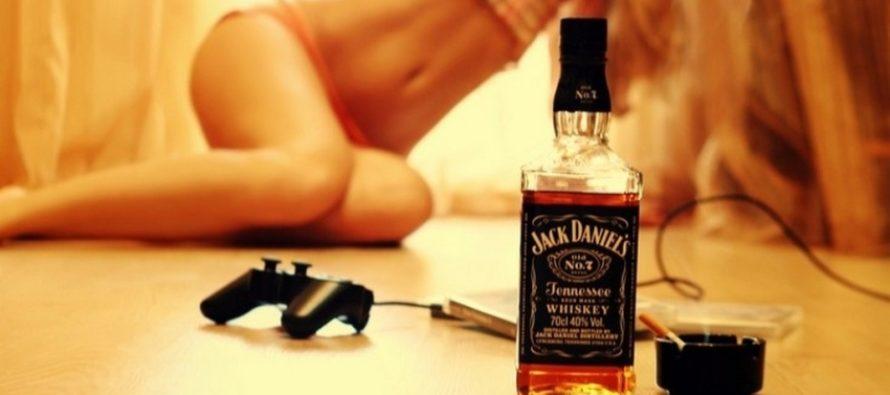 Секс с алкоголем