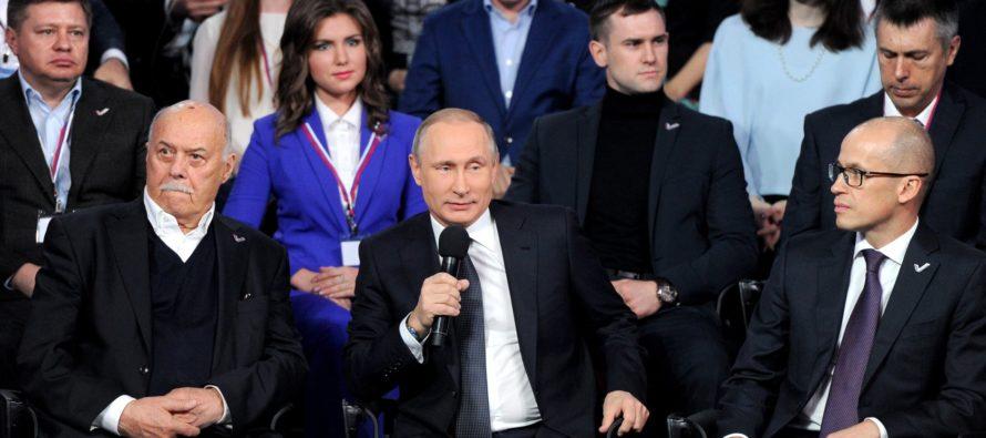 Путину на форуме ОНФ представили положительный опыт Алтайского края по развитию туризма