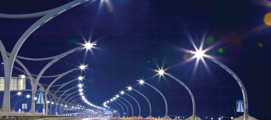 В Алтайском крае совершенствуют освещение федеральных трасс