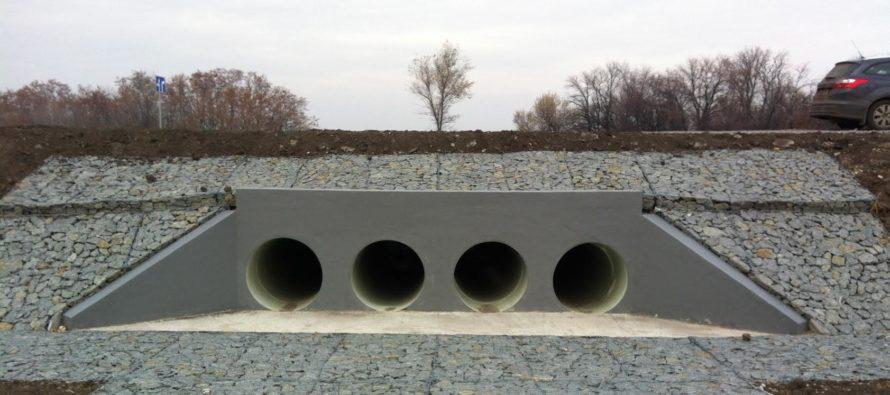 В Алтайском крае на Чуйском тракте капитально отремонтируют водопропускную трубу