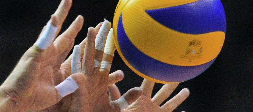 На чемпионате России алтайский волейбольный клуб «Университет» принимает команду «Прикамье»
