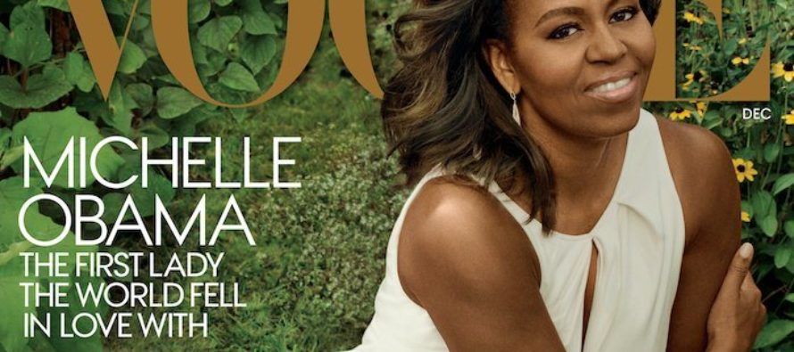 Мишель Обама в третий раз появится на обложке Vogue