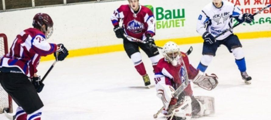 Хоккейный клуб «Алтай» потерпел унизительное поражение дома от ЦСК ВВС