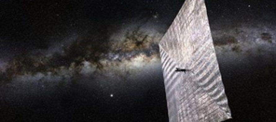 Российские ученые разрабатывают уникальный парусный спутник