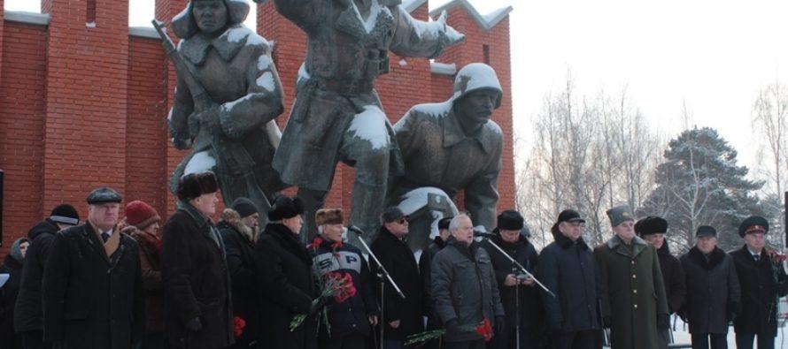 В Москве открыли Аллею памяти воинам Алтайского края