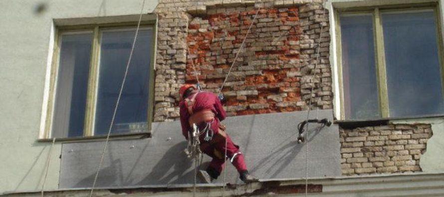 В Алтайском крае продолжается программа по капитальному ремонту фасадов домов