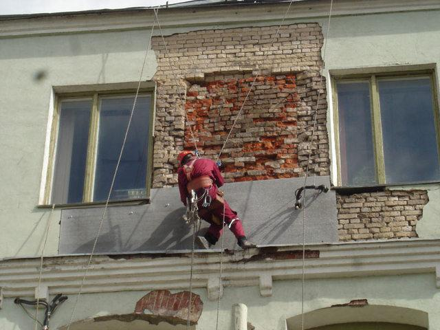 Ремонт дома фасад
