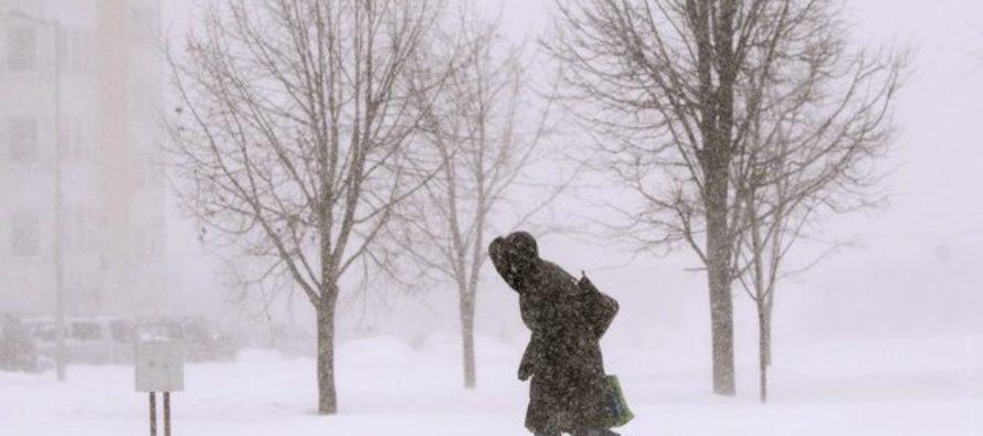 Метели и сильный ветер: в Алтайском крае вновь объявили штормовое предупреждение