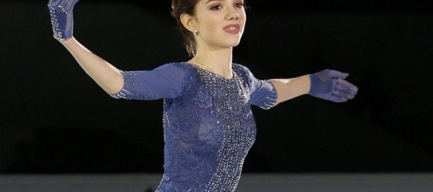 Фигуристка Евгения Медведева-Бабасян установила мировой рекорд на Гран-при в Марселе