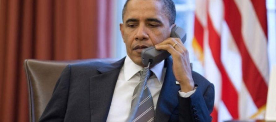 СМИ: Обама позвонил по «красному телефону» Путину из-за кибератак