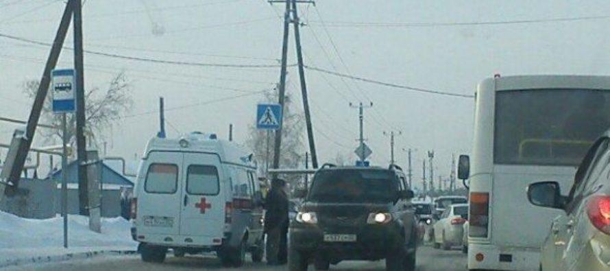 В Барнауле молодой водитель сбил бабушку на пешеходном переходе