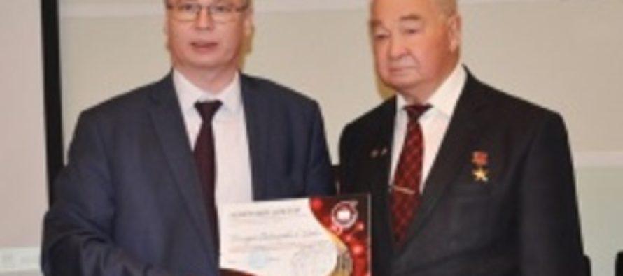 Академик Геннадий Сакович стал Почетным доктором Казанского национального исследовательского технологического университета