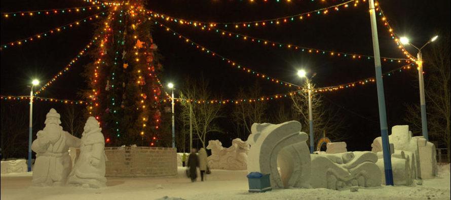 Управление по работе с населением объявляет о проведении городского конкурса на лучший новогодний снежный городок