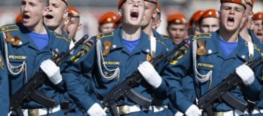 Россия вошла в пятерку самых милитаризованных стран мира