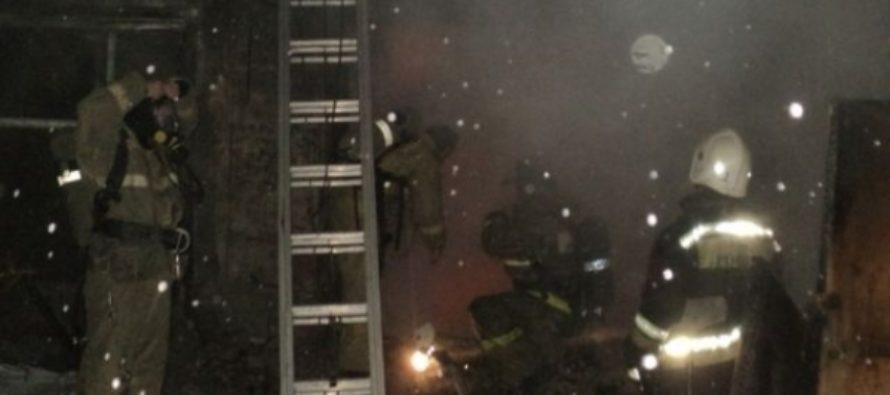 Открытое горение на радиозаводе в Барнауле удалось ликвидировать