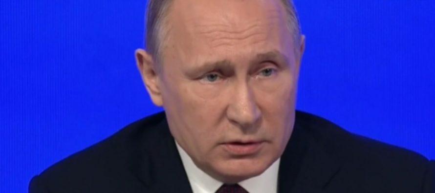 У Путина спросили, почему россияне платят налоги и вынуждены платить поборы