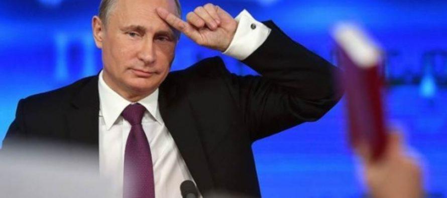 Большая пресс-конференция Владимира Путина. Текстовая трансляция