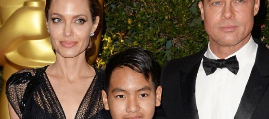 Старший сын Анджелины Джоли угрожает Брэду Питту видеокомпроматом