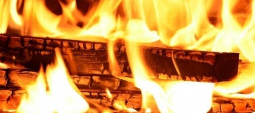 Мать и ее 10-летняя дочь погибли при пожаре в частном доме на Алтае