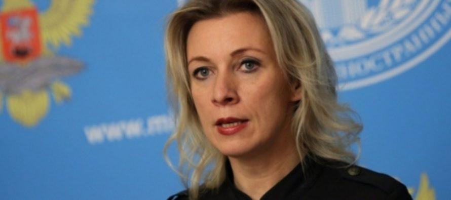 Захарова объяснила, почему Киев обрадовался крушению Ту-154 Минобороны РФ