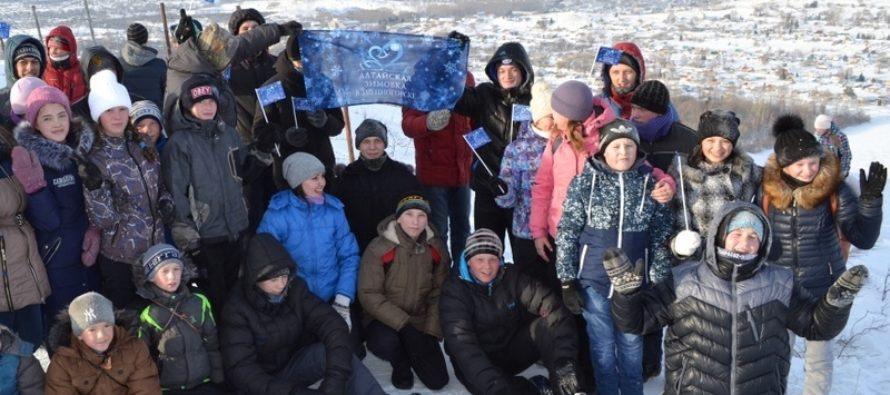 В Змеиногорске Алтайского края состоялся праздник открытия зимнего турсезона