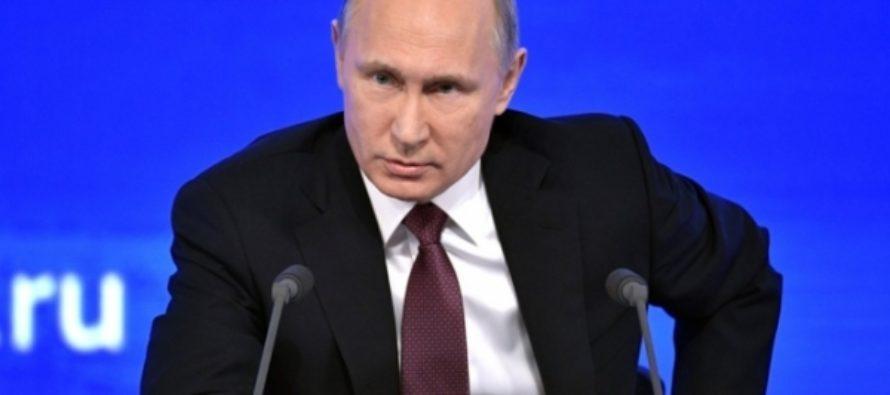 Окончание текстовой трансляции большой пресс-конференции Владимира Путина