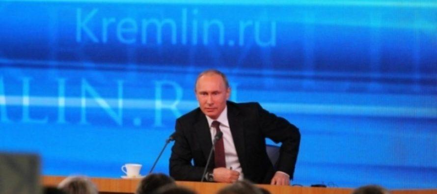 Владимир Путин 23 декабря в 12-й раз выступает на большой пресс-конференции