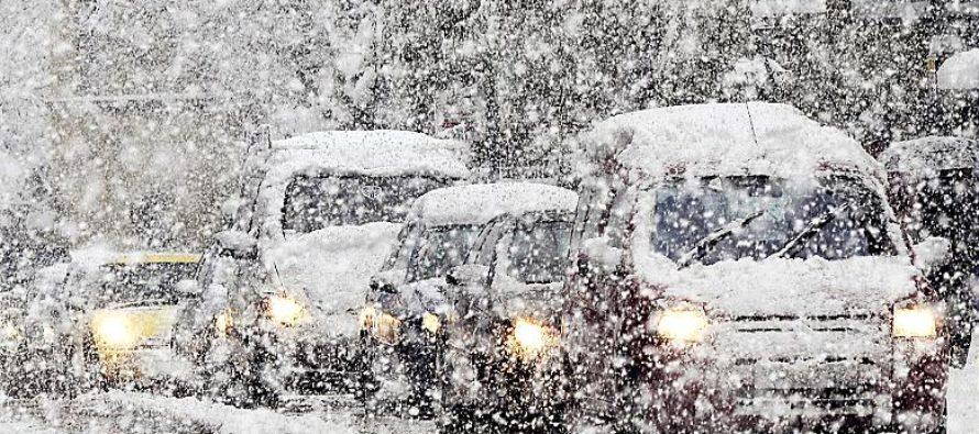 Из-за непогоды в Алтайском крае ограничили движение на региональных автодорогах
