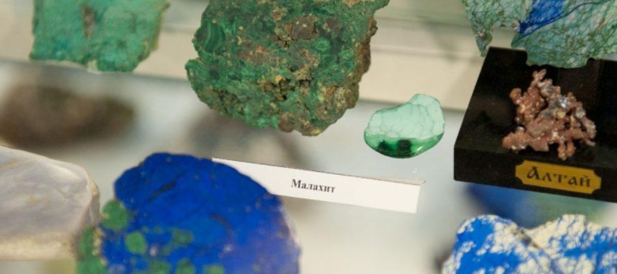 В алтайском музее «Мир камня» состоится лекция о малахите