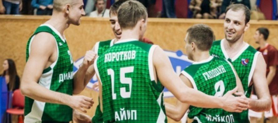 «АлтайБаскет» взял убедительный реванш в Майкопе у «Динамо-МГТУ»