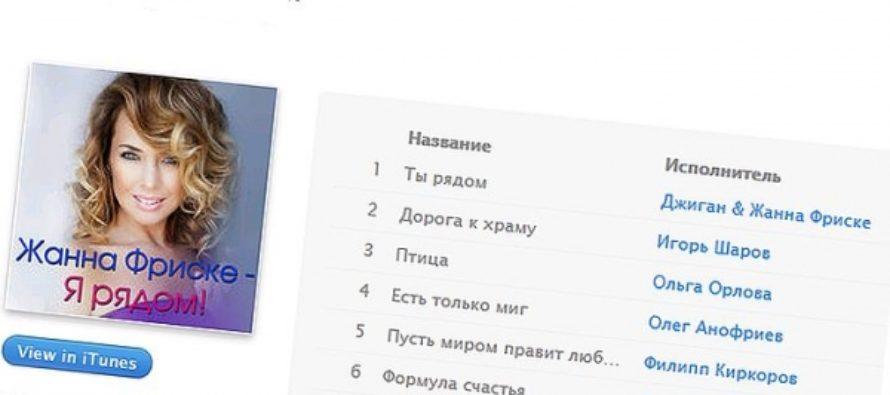 Вышел альбом памяти Жанны Фриске