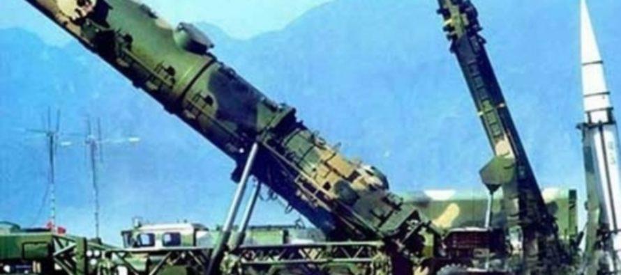 Кремль не видит угрозы в размещении китайских ракет на границе с Россией